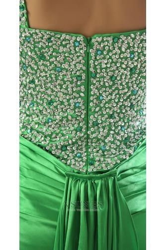 Vestido de fiesta Elegante Cristal Tiras anchas Espalda Descubierta Triángulo Invertido - Página 6