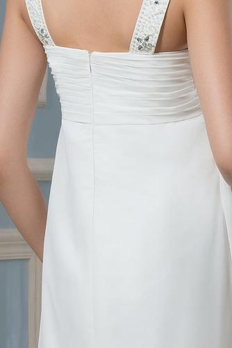 Vestido de novia Alto cubierto Hasta el suelo Moderno Imperio Cintura - Página 5