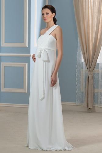 Vestido de novia Imperio Rosetón Acentuado Cremallera Blusa plisada - Página 2
