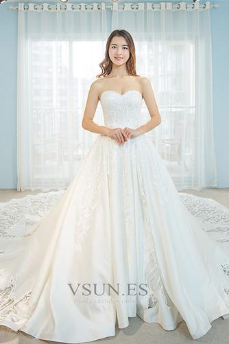 Vestido de novia Pera Sala Escote Corazón Natural Corte-A Formal - Página 1