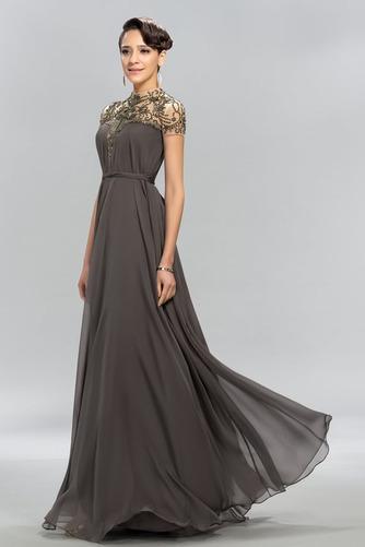 Vestido de noche Arco Acentuado Corte-A Verano Falta Natural Lazos - Página 3