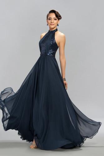 Vestido de noche Elegante Corpiño Con lentejuelas Corte-A Hasta el suelo - Página 2