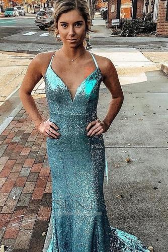 Vestido de fiesta Sin mangas Estrellado Verano Falta Escote en V Corte-A - Página 3