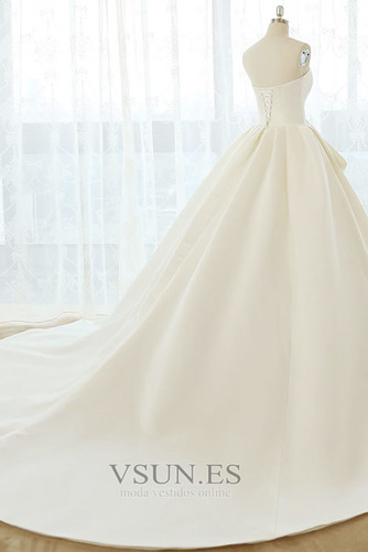 Vestido de novia Tallas grandes Cordón Natural Escote Corazón Otoño - Página 2