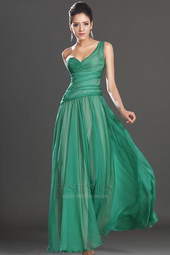 Vestido de fiesta Elegante Verano Sin mangas Corte Recto Cintura Baja - Página 5