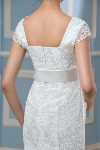 Vestido de novia Embarazadas Cremallera Imperio Cintura primavera Cola Barriba - Página 5