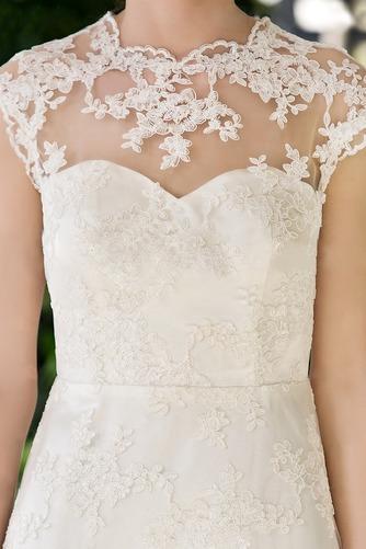 Vestido de novia Clasicos Espalda con ojo de cerradura Joya Apliques - Página 3