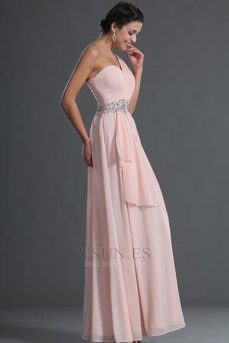 Vestido de fiesta Elegante Bebé rosa Verano Natural Gasa Sin mangas - Página 7