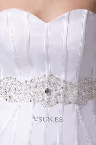 Vestido de novia Playa Falta Cintura Baja Asimètrico Espalda Descubierta - Página 6