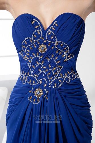Vestido de fiesta Corte-A Gasa Falta Moderno Natural Abalorio - Página 5