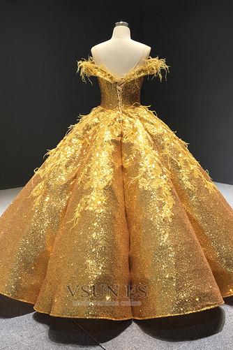 Vestido de fiesta Estrellado Con lentejuelas Corte-A Triángulo Invertido - Página 9