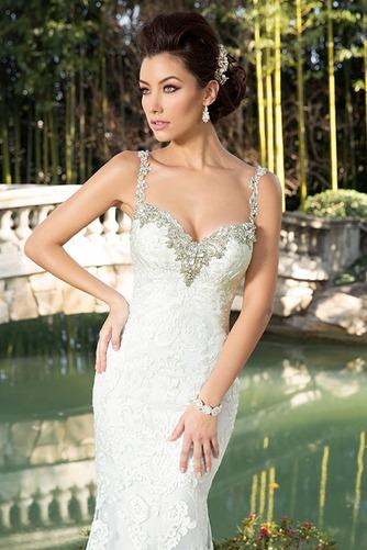 Vestido de novia Playa Apliques Natural tul Colores Cola Catedral - Página 3