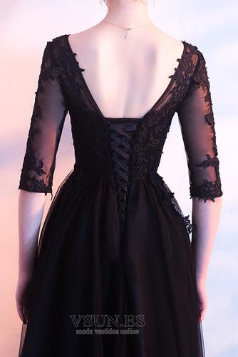 Vestido de fiesta Tallas grandes tul Otoño Natural Oscilación Corte-A - Página 2