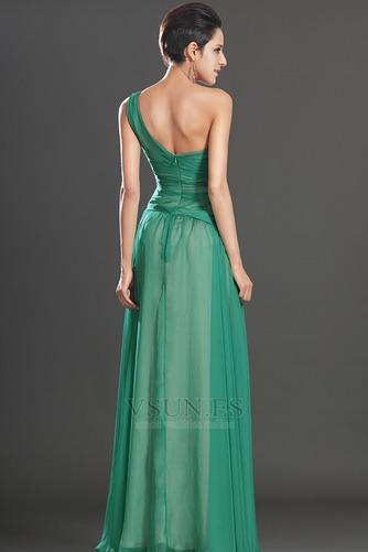 Vestido de fiesta Elegante Verano Sin mangas Corte Recto Cintura Baja - Página 7