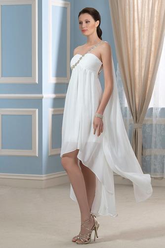 Vestido de novia Sin mangas Verano Espalda Descubierta Imperio Cintura - Página 3