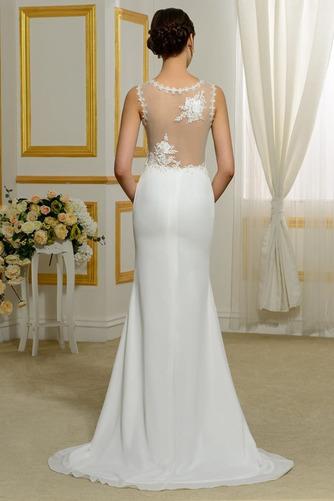 Vestido de novia Tallas pequeñas Playa Volantes Adorno Tiras anchas - Página 3