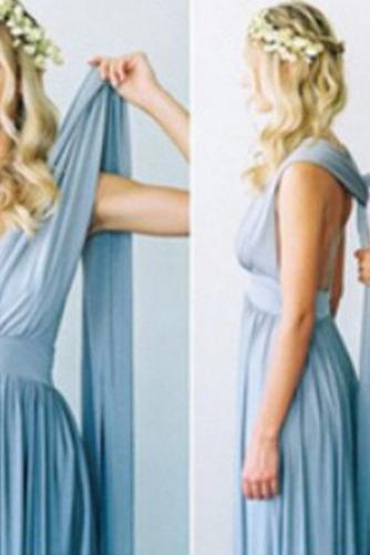 Vestido de dama de honor Blusa plisada Verano Sencillo Espalda Descubierta Triángulo Invertido - Página 9