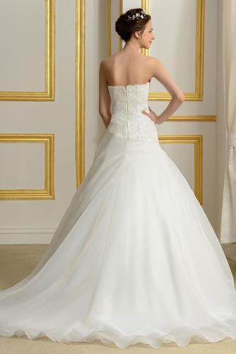 Vestido de novia Capa de encaje Sin mangas primavera Espalda Descubierta - Página 3