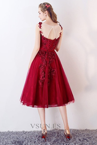 Vestido de fiesta Oscilación Abalorio Capa de encaje Cordón Glamouroso - Página 2