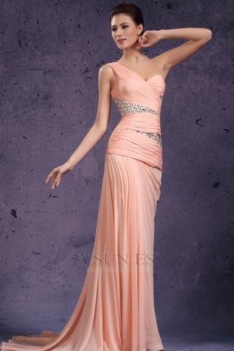 Vestido de noche 2016 Bebé rosa Sin mangas Espalda medio descubierto - Página 4