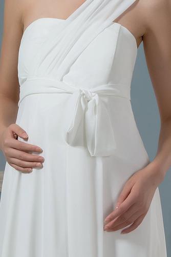 Vestido de novia Imperio Rosetón Acentuado Cremallera Blusa plisada - Página 4