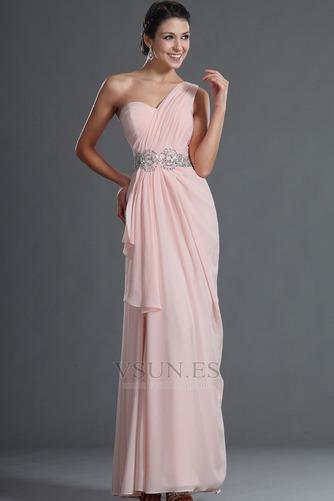 Vestido de fiesta Elegante Bebé rosa Verano Natural Gasa Sin mangas - Página 4