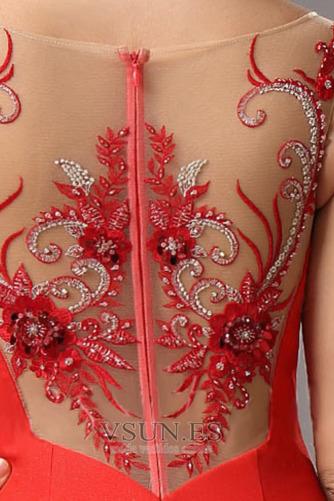 Vestido de noche Elegante Cremallera primavera Tiras anchas largo Cintura Baja - Página 4
