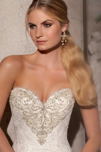Vestido de novia Espectaculares Sala Escote Corazón largo Sin mangas - Página 3