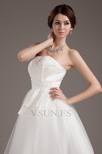 Vestido de novia Romántico Corte princesa Hasta la Rodilla Tallas pequeñas - Página 6