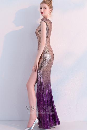 Vestido de fiesta Corte Sirena Hasta el Tobillo Tallas pequeñas Moderno - Página 2