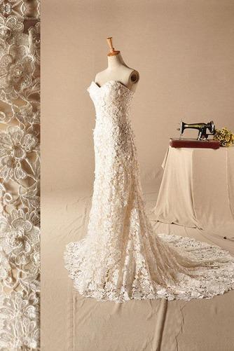 Vestido de novia Clasicos Sin mangas largo Natural Corte Sirena Escote Corazón - Página 2