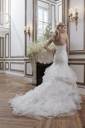Vestido de novia Espectaculares largo Natural Fuera de casa Apliques - Página 3