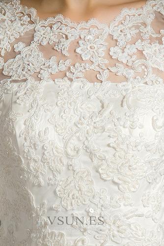 Vestido de novia Encaje Cremallera Triángulo Invertido Sala Corte Sirena - Página 4