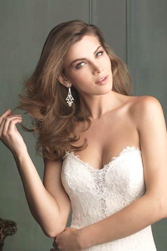 Vestido de novia Encaje Espalda Descubierta Sin mangas largo Encaje - Página 3