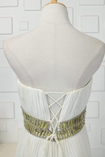 Vestido de noche Asimétrico Dobladillo Abalorio Moderno Frontal Dividida - Página 5