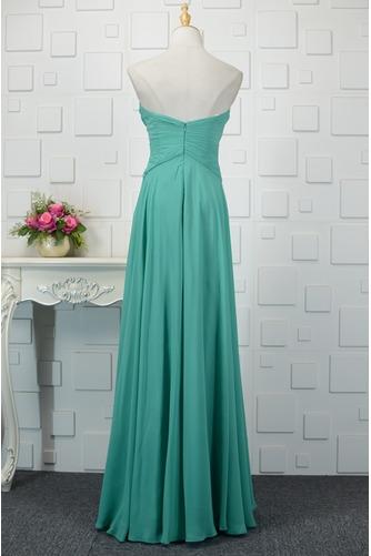 Vestido de noche Natural Corte-A Espalda Descubierta Otoño Romántico - Página 3