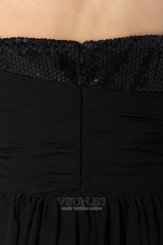 Vestido de fiesta Asimétrico Dobladillo Escote Corazón Natural Moderno - Página 6