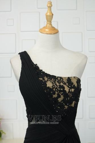 Vestido de noche Elegante Encaje Corte-A Capa de encaje Natural Falta - Página 4