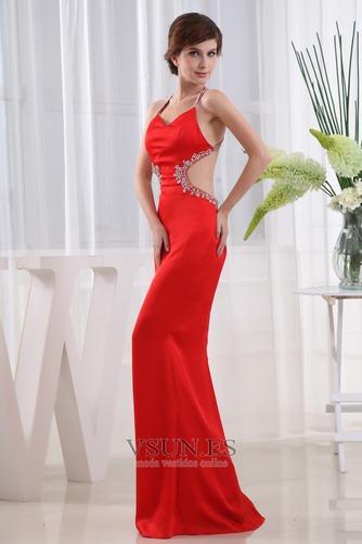 Vestido de fiesta Corte Sirena Espalda Descubierta Escote halter Moderno - Página 3