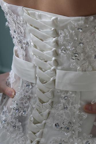 Vestido de novia Sin tirantes Manzana Asimétrico Dobladillo Cintura Baja - Página 7