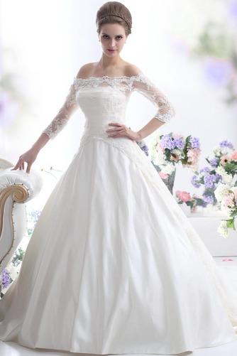 Vestido de novia Clasicos Cordón Mangas Illusion Sala Escote con Hombros caídos - Página 6