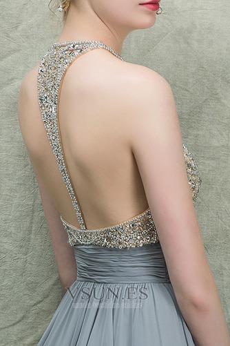 Vestido de fiesta Espectaculares Corte-A Natural Corpiño Acentuado con Perla - Página 6