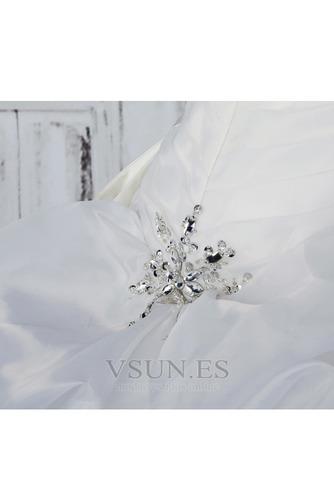 Vestido de novia Fuera de casa Exclusivo Plisado Asimétrico Dobladillo - Página 7
