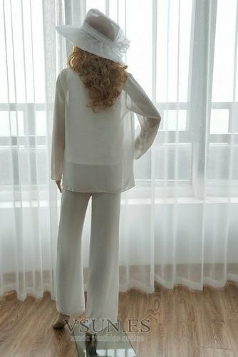 Vestido de madre traje de pantalones Hasta el Tobillo Elegante Manga larga Natural Triángulo Invertido - Página 4