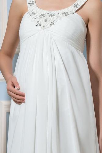 Vestido de novia Alto cubierto Hasta el suelo Moderno Imperio Cintura - Página 4