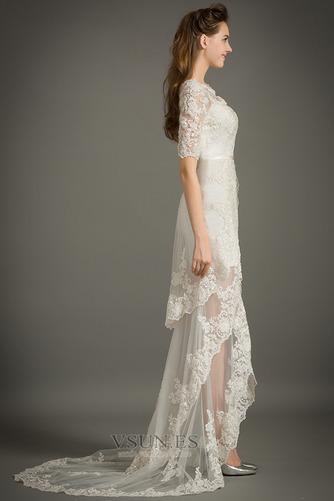 Vestido de novia Capa de encaje Natural Moderno Manga de longitud 3/4 - Página 3