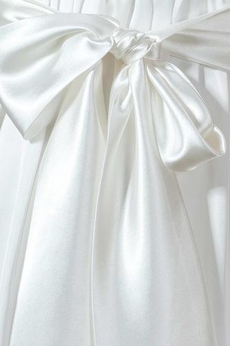Vestido de novia Arco Acentuado Verano Gasa Drapeado Blusa plisada Hasta la Rodilla - Página 7