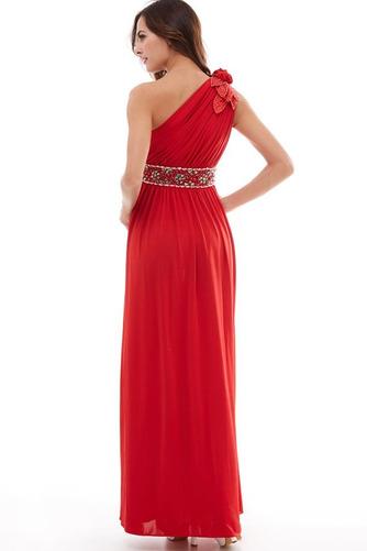 Vestido de fiesta Elegante Plisado Natural Corte-A Hasta el Tobillo Espalda medio descubierto - Página 2