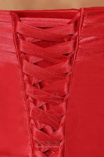 Vestido de noche Corte Sirena Satén largo Drapeado Cordón Escote halter - Página 5