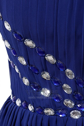 Vestido de fiesta Elegante primavera Corte-A Cola Barriba fantasía Sin mangas - Página 7